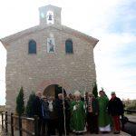 Visita arzobispo de Zaragoza a Lagata